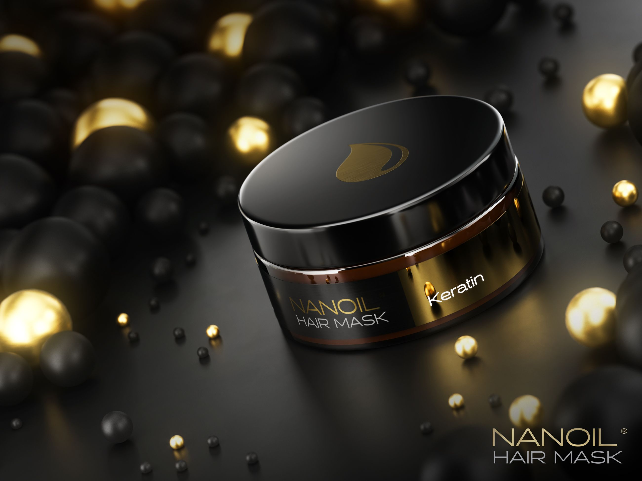 keratin hårmaske Nanoil